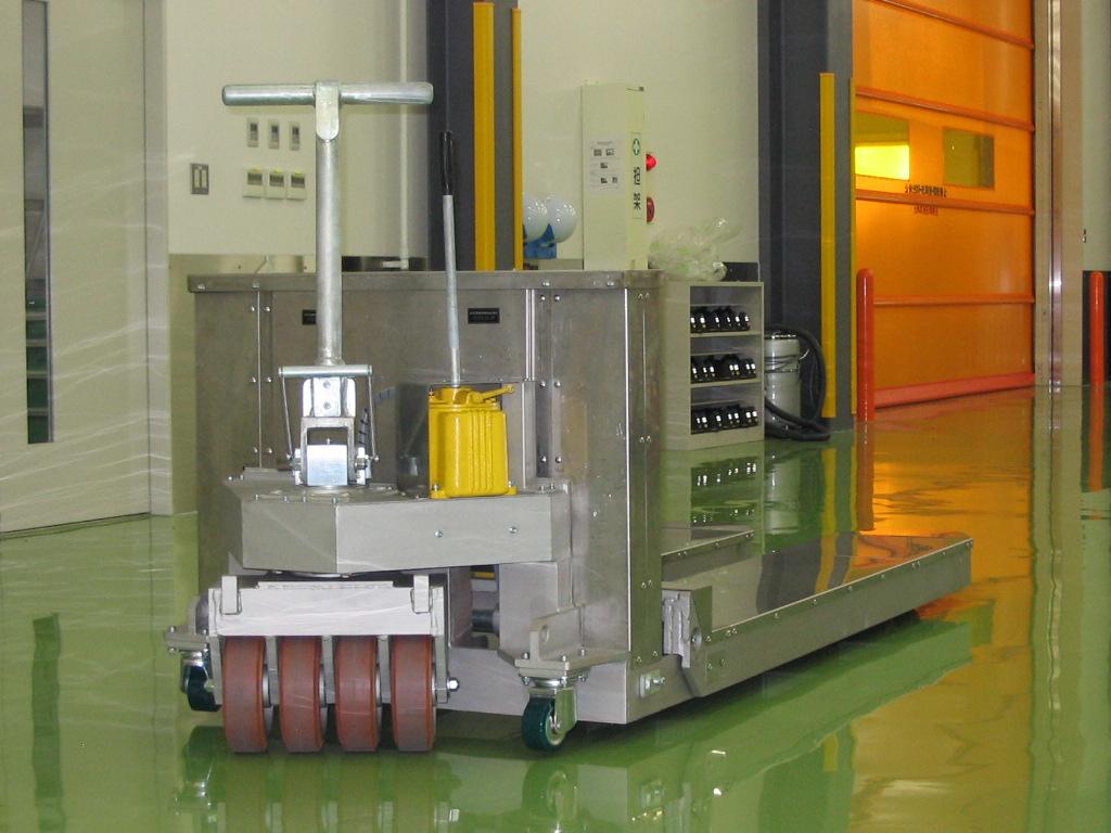 大京運搬機器 10トン仕様特殊ハンドパレットトラック(ハンドリフター)