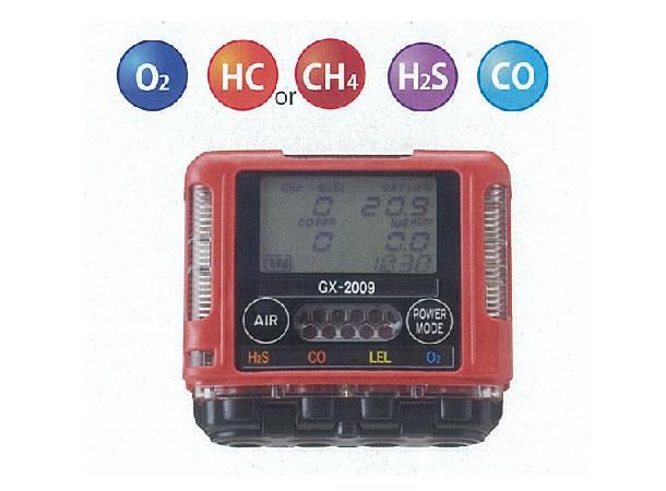理研計器 ガスモニター GX-2009