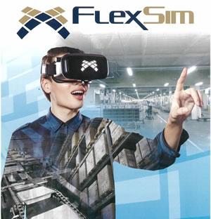 ゼネテック 3Dシュミレーションツール FlexSim